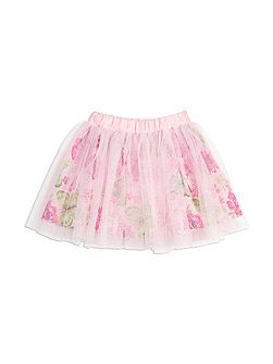Girls Butterfly Tulle Skirt