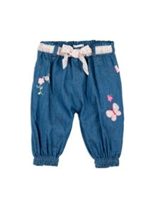 Pumpkin Patch Girls Chambray Lounger Pant