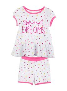 Pumpkin Patch Girls Sweet Dreams PJ set
