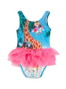 Pumpkin Patch Girls Brooklyn Tutu Swimsuit