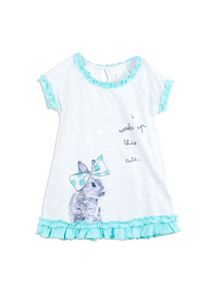 Pumpkin Patch Girls Bunny Print Nightie