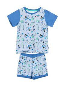 Pumpkin Patch Boys Musical Animal PJ Set