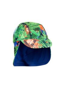Pumpkin Patch Bird Print  Hat
