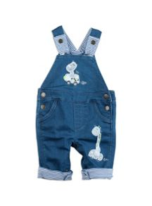 Pumpkin Patch Boys Jungle Denim Dungaree