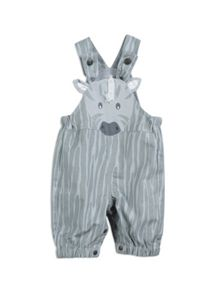 Pumpkin Patch Boys Giraffe Dungaree