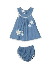 Pumpkin Patch Girls Pinnie and Knickers