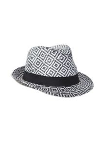 Pumpkin Patch Boys Jungle Weave Fedora