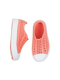 Girls Hole Punch Beach Shoe
