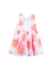 Pumpkin Patch Girls Floral X-Back Dress