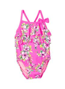 Pumpkin Patch Girls Jackie Floral Swimsuit
