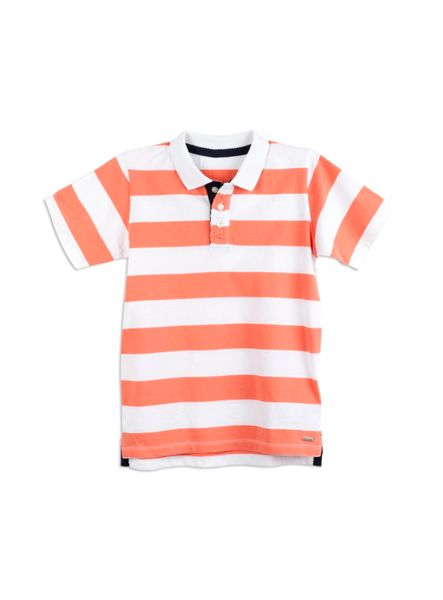 Pumpkin Patch Boys George Stripe Polo