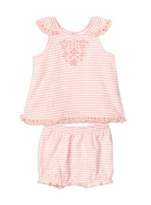 Pumpkin Patch Girls Stripe Tassel Set