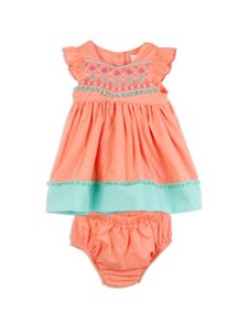 Pumpkin Patch Girls Tassel Dress and Knicker