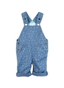 Pumpkin Patch Boys Turtle Print Dungarees