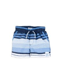 Pumpkin Patch Boys Striped Boardshorts