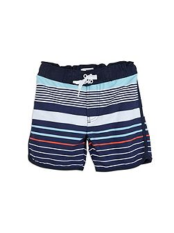 Boys Multi Stripe Boardies
