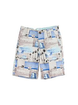 Boys Photographic Printed Short