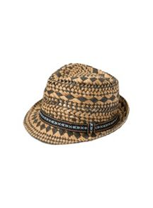 Pumpkin Patch Boys Crochet Beach Fedora