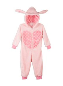 Pumpkin Patch Fluffy Bunny All-in-One