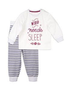 Pumpkin Patch Relaxed Sleep PJ Set
