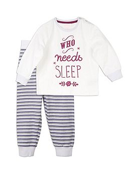 Relaxed Sleep PJ Set