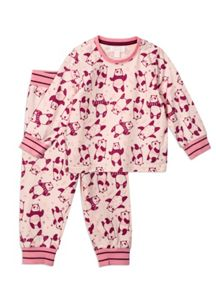 Pumpkin Patch Relaxed Dancing Panda PJ Set