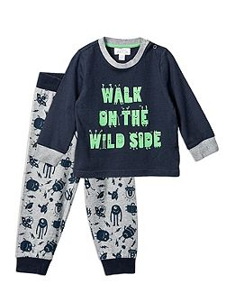 Relaxed Wild Side PJ Set