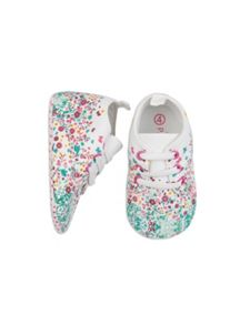 Pumpkin Patch Baby Girls Floral Hi Top