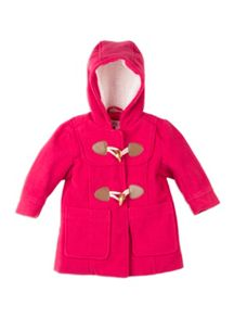 Pumpkin Patch Hooded Duffle Coat