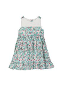 Pumpkin Patch Floral Panelled Dress