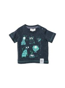 Pumpkin Patch Spaceship Tee
