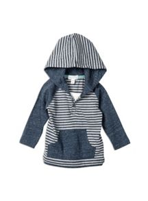 Pumpkin Patch Stripe Hooded Tee