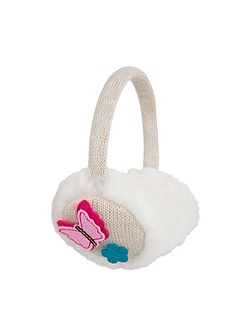 Sparkle Knit Ear Muffs
