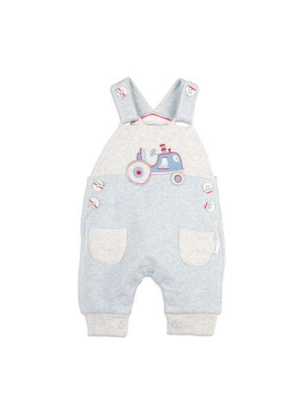 Pumpkin Patch Fleece Tractor Dungaree