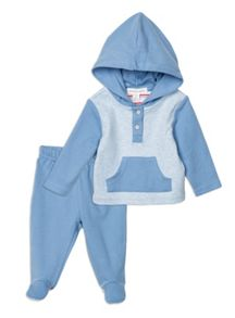 Pumpkin Patch Newborn Hooded Set