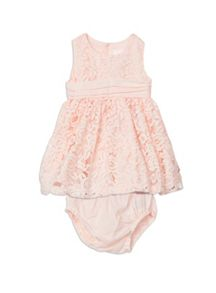 Pumpkin Patch Lace Dress with Knicker