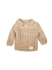 Pumpkin Patch Cable Knit Jumper