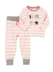 Pumpkin Patch Stripey Slim Sleep Set
