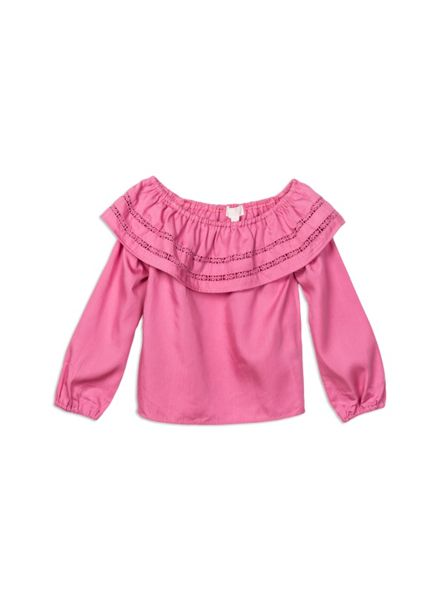 Pumpkin Patch Giselle Frill Top