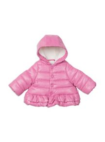 Pumpkin Patch Frilly Puffer Jacket