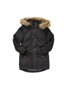 Pumpkin Patch Spliced Padded Jacket