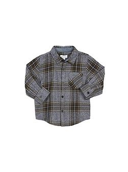 Marled Check Shirt