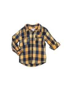 Pumpkin Patch Lumberjack Check Shirt