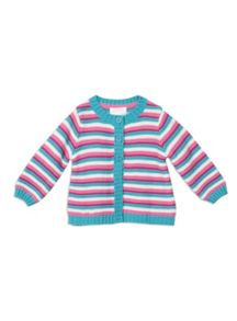 Pumpkin Patch Stripe Cardigan