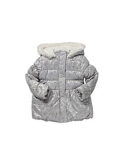 Flocked Padded Jacket