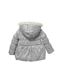 Pumpkin Patch Flocked Padded Jacket