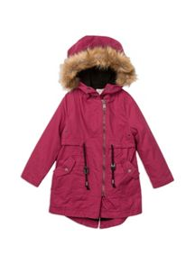 Pumpkin Patch Hooded Parka Jacket