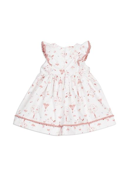 Pumpkin Patch Dove Print Dress