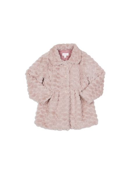 Pumpkin Patch Faux Fur Bubble Jacket