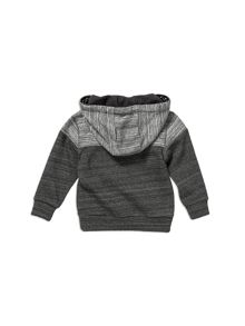 Pumpkin Patch Spliced Grey Hoodie